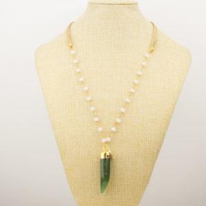 Collar Cuerno Mineral 1