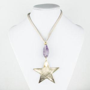 Collar Estrella y Mineral 2